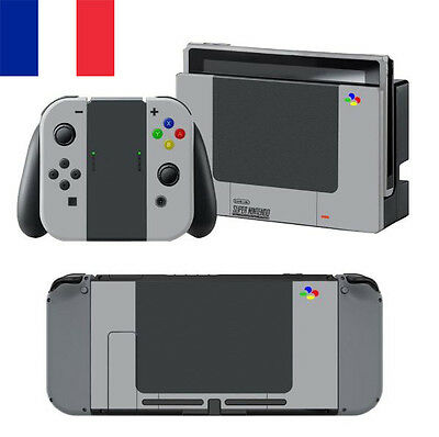 NOUVEAU FRANCE 2017 ! | Autocollant/Sticker Super-Nintendo POUR Nintendo Switch