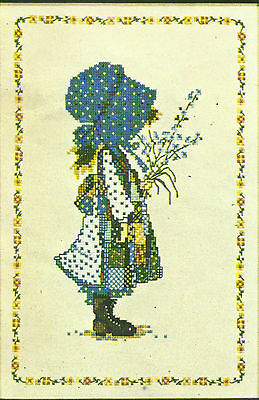 Vintage Holly Hobbie Cross Stitch Pattern Chart