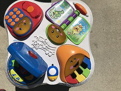 Fisher-Price Laugh & Learn Fun with Friends Musical Table Activity Center