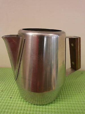 Vintage 18/8 Stainless Steel Radmore Treasure Chest Milk Jug
