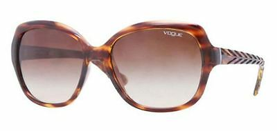Genuine Vogue 2871S Replacement Sunglasses Lenses Gradient Brown PolyCarbonate