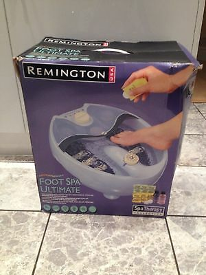 remington aromatherapy foot spa ultimate,spa therapy collection