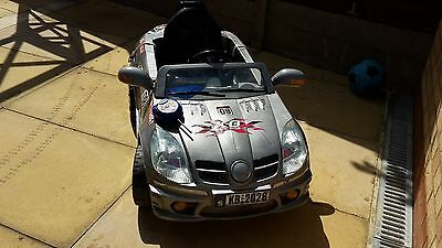 Mercedes SL Styled Electric ride on sports car with parental remote control