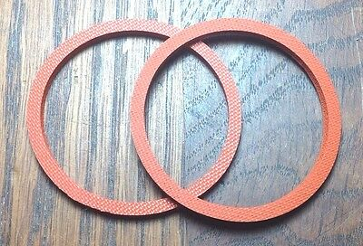 Phonograph Reproducer Diaphragm Gasket Set for Victor Victrola #2 Reproducers