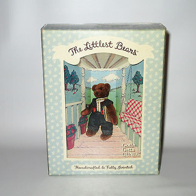 Gund Littlest Bears Grandfather 7003 Boxed Miniature 1994 Fully Jointed