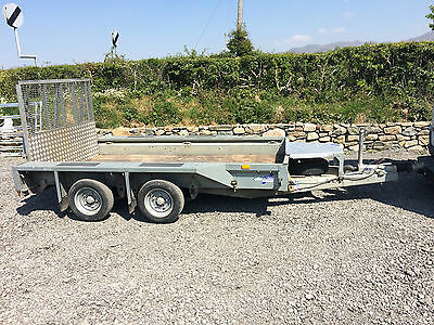 """Ifor Williams GX105 HD Plant digger Trailer braked 3500kg 10'x5'2"""""""