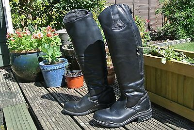Mountain Horse long black boots size 5.5