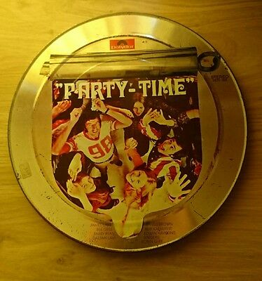 rare polydor party time lp 3 vinyl coloured steel case