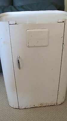 Old Retro Vintage Westinghouse Roaster Stand Metal Cupboard Cabinet On Wheels