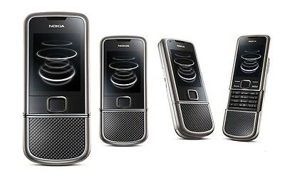 ☆☆☆☆☆ Nokia 8800 Carbon Arte ☆ Handy Dummy Attrappe ☆ No real mobile phone ☆☆☆☆☆