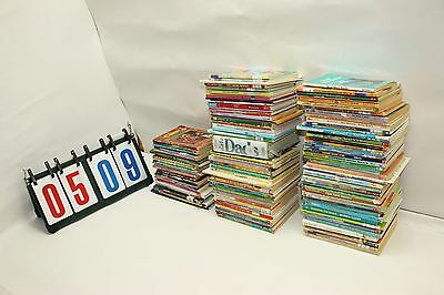 Lot of 112 Childrens Kids Chapter Books Paper Back Age 4 - 10
