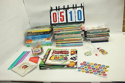 Lot 103 Childrens Kids Pre K - Grade 4 Work Books Math Science Reading Writing