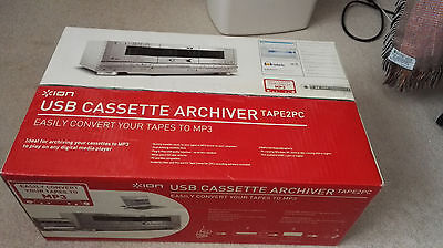 ION TAPE2PC USB Cassette Archiver Twin Deck Recorder (Convert Your Tapes To MP3)