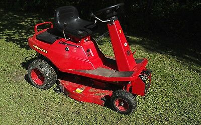 Countax Ride on mower complete with accessories