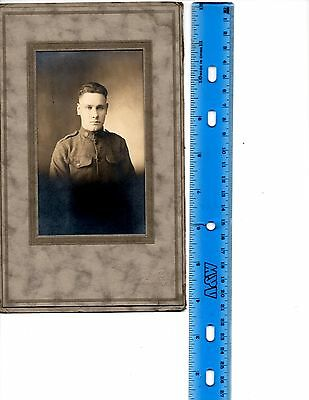 World War One Aef Us Army Enlisted Soldier Photo Original