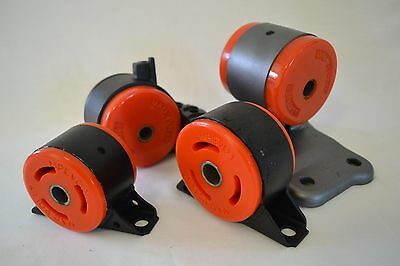 New EVO 4-9 GSR Lancer Polyurethane Engine Mount Insert Set PU DSM 4G63
