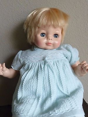Vintage Vogue 1965 Baby Dear One Doll 23 Inches Friemanit 3-Piece Outfit Clean