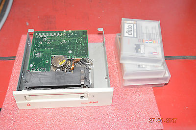 iomega ditto tape drive and 4 tapes
