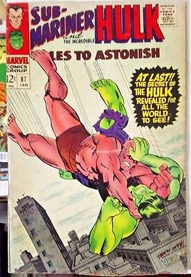 Tales To Astonish # 87, Nice Entry Level Copy.