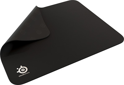 """Steelseries Qck Mass Anti-Slip Rubber Gaming Mouse Pad 10.2""""x8.3""""x0.8"""" Black"""
