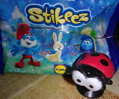 Smurfs Stikeez Lidl figure: SNAPPY the ladybird from Smurfs the Lost Village