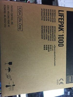 New Physio Control Lifepak 1000 AED Sealed Fast Free Shipping Warranty 10/2020