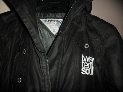 Twisted Soul Mens padded jacket size S/M