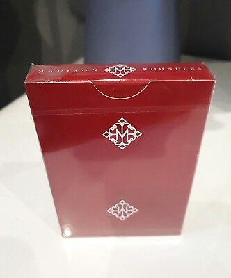 Daniel Madison Private Reserves Playing Cards Red Scarlet Ellusionist New Rare