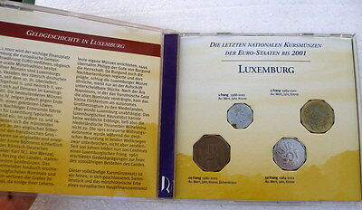 Luxembourg 4 Coin Presentation Pack