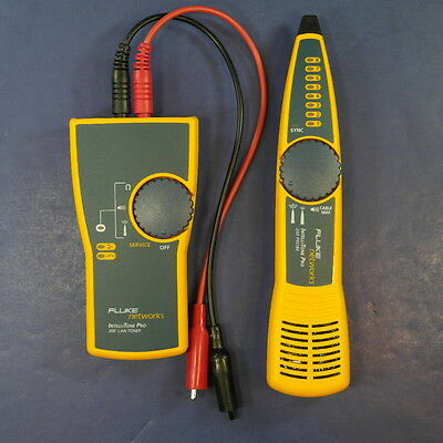 Fluke IntelliTone Pro 200 Probe and 200 LAN Toner, Excellent Condition