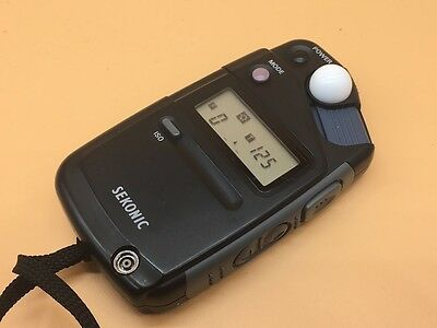 Sekonic Flashmate Light Meter L-308B With Slip Case In Good Condition - (#8)
