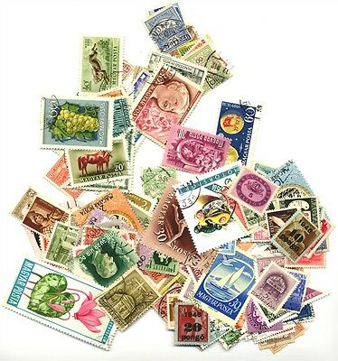 176 Stamps from Hungary