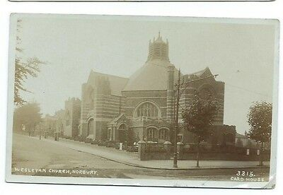Welseyan Church,Norbury.1909. Real Photo