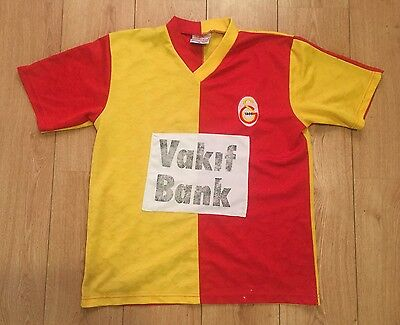 Retro / Vintage Galatasaray Football Shirt From Club Shop In Turkey Size Large