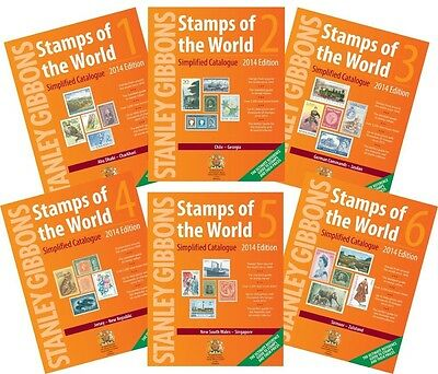 Stanley Gibbons Stamps of the world 2014 catalogue on DVD
