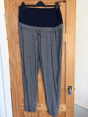 marks and spencer Maternity Summer Trousers Over Bump Pregnancy 12
