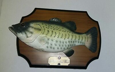 Big Mouth Billy Bass Singing Mounted Fish Don't Worry Be Happy Take Me To River