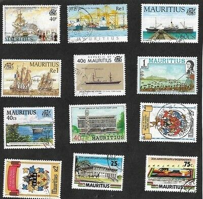 Mauritius Stamp collection