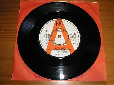 """The Leslie Williams Orchestra. The Pallisers. 7"""" Single. Promo"""