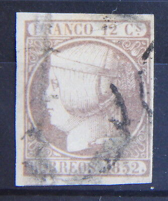 Spain. Isabel II. Edifil  13