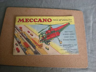 Meccano toys catalogue c 1956?