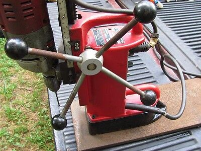 Milwaukee 4202 Adjustable base mag Drill Press with forward & reverse & chuck