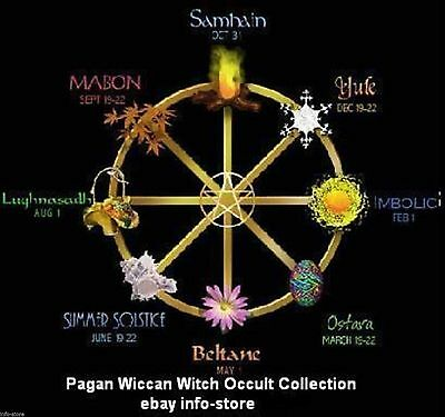 Pagan Wiccan Witch Occult Huge eBooks  Collection CD