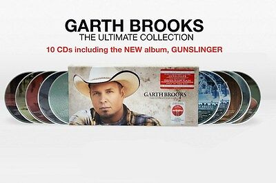 Brand New Sealed Garth Brooks The Ultimate Collection 10-CD Disc Box Set