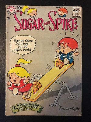 Sugar And Spike #16 1956 Series DC Comics.