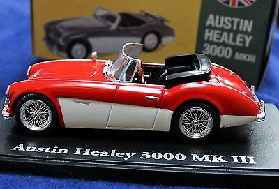 Atlas Editions Classic Sports Cars Austin Healey 3000 MKIII