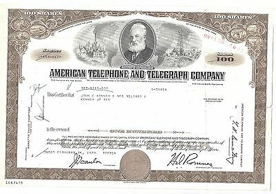American Telephone and Telegraph Company-shares-1970