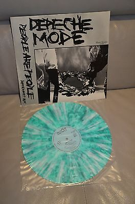 """3 x Depeche Mode 12"""" Singles MARBLE People Are People and 2 others"""