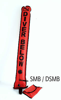 Scuba Diving SMB/DSMB Oral and Second Stage Inflation Valve ,Dump Valve ,Pouch