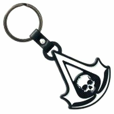 Collectible Key Rings! Assassins Creed Black Flag Pewter Metal Keychain